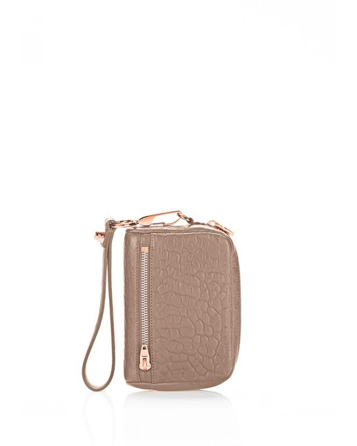 Alexander Wang | Multicolor Large Fumo In Pebbled Latte With Rose Gold | Lyst