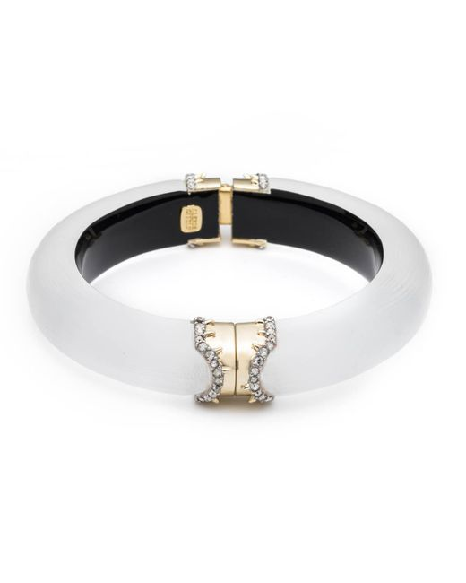 Alexis Bittar - Metallic Pave Edged Hinge Bracelet You Might Also Like - Lyst