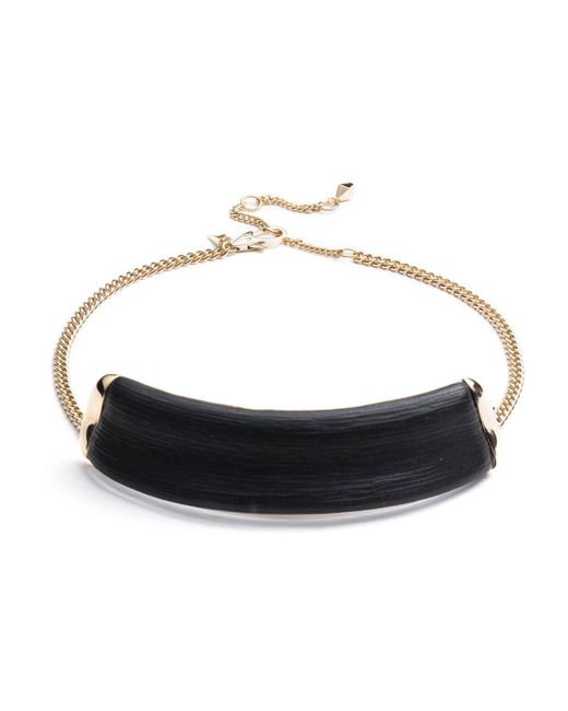 Alexis Bittar | Black Id Collar Necklace You Might Also Like | Lyst