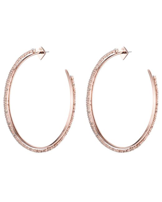 Alexis Bittar - Multicolor Crystal Lace Orbiting Hoop Earring You Might Also Like - Lyst