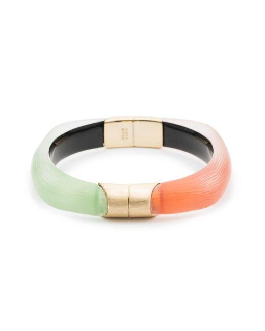 Alexis Bittar - Multicolor Soft Square Color Block Hinge Bracelet - Lyst