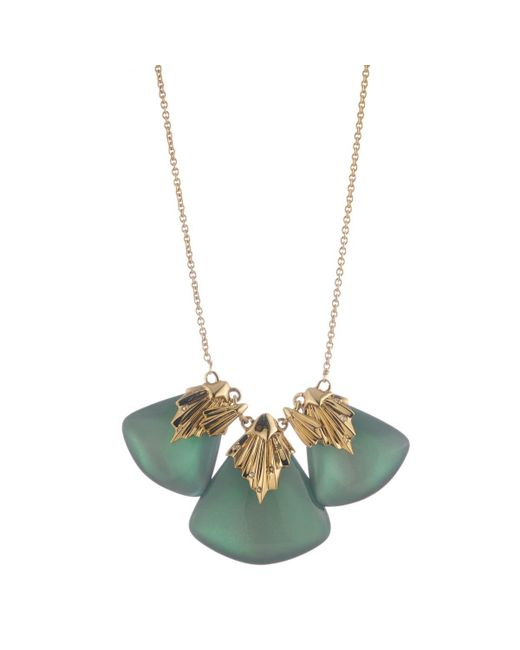 Alexis Bittar | Multicolor Pleated Bib Necklace You Might Also Like | Lyst
