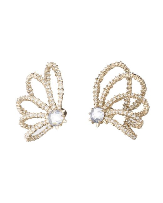 Alexis Bittar - Metallic Crystal Lace Orbiting Post Earring You Might Also Like - Lyst