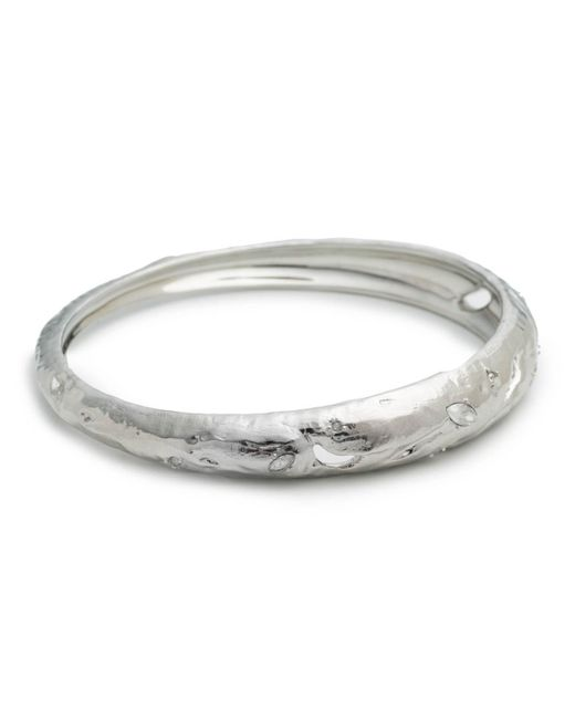 Alexis Bittar | Metallic Skinny Tapered Rocky Metal Bangle Bracelet You Might Also Like | Lyst