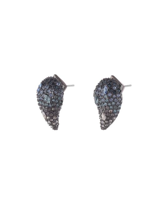Alexis Bittar - Multicolor Crystal Encrusted Ombre Paisley Post Earring - Lyst