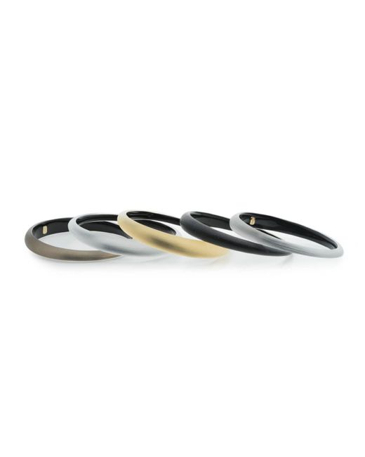 Alexis Bittar - Multicolor Tapered Bangle 5 Stack Set You Might Also Like - Lyst