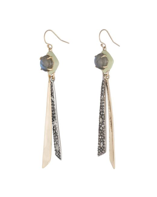 Alexis Bittar - Multicolor Crystal Encrusted Metal Tassel Wire Earring You Might Also Like - Lyst