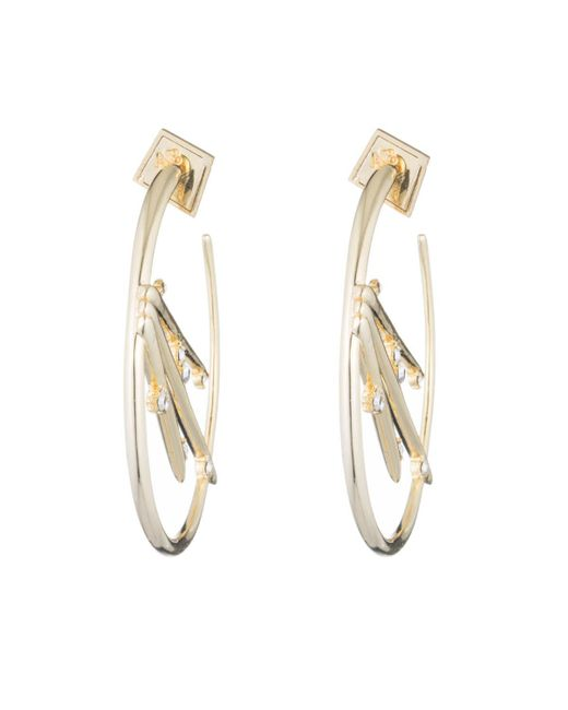 Alexis Bittar | Metallic Satellite Crystal Spike Hoop Earring You Might Also Like | Lyst