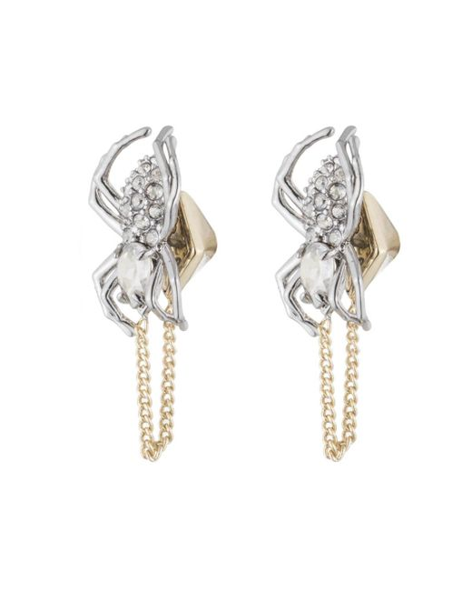 Alexis Bittar | Metallic Crystal Encrusted Spider Post Earring You Might Also Like | Lyst