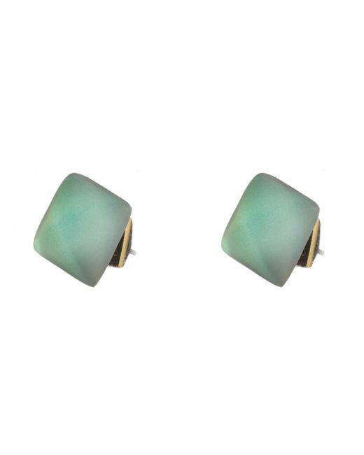 Alexis Bittar | Green Pyramid Post Earring You Might Also Like | Lyst