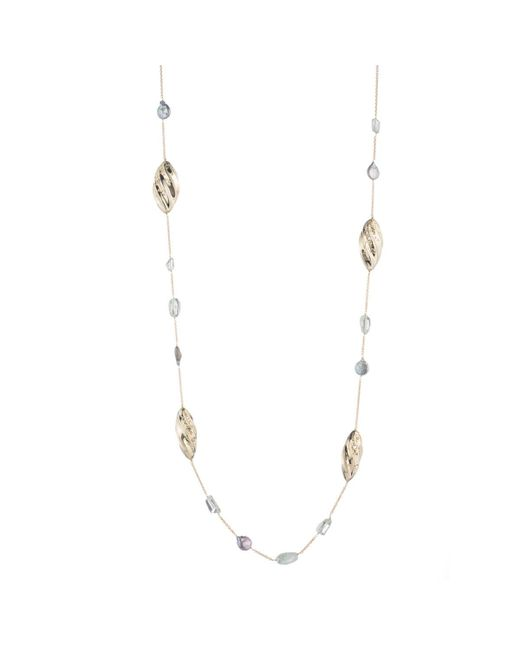 Alexis Bittar   Metallic Pleated Link Station Necklace You Might Also Like   Lyst