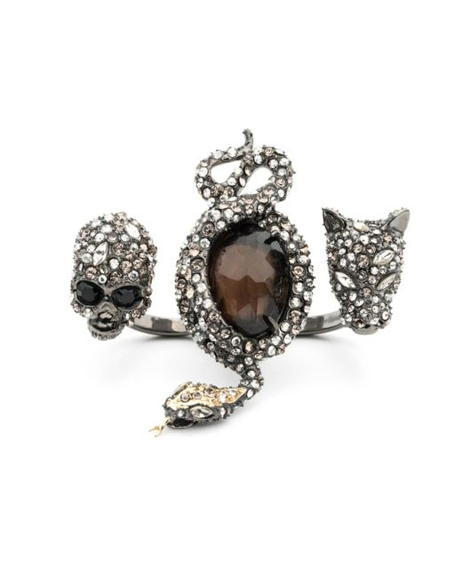 Alexis Bittar | Metallic Crystal Skull, Snake And Panther Ring You Might Also Like | Lyst