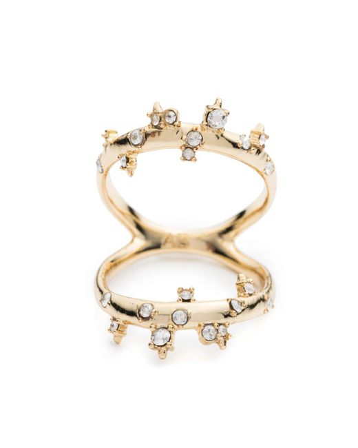 Alexis Bittar - Metallic Double Band Crystal Ring You Might Also Like - Lyst
