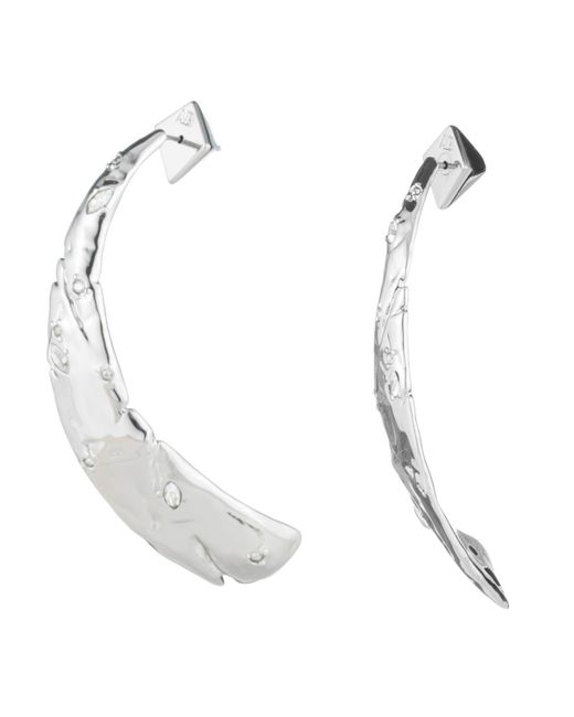 Alexis Bittar - Multicolor Rocky Metal Tapered Post Earring - Lyst