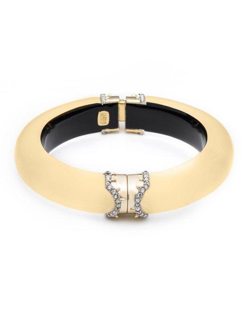 Alexis Bittar - Metallic Pave Edged Medium Hinge Bracelet You Might Also Like - Lyst