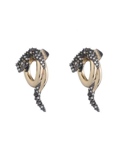 Alexis Bittar   Multicolor Coiled Snake Post Earring You Might Also Like   Lyst