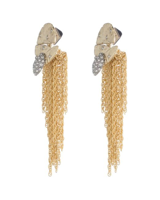 Alexis Bittar   Metallic Rocky Medallion Post Earring You Might Also Like   Lyst