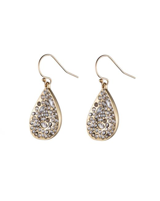 Alexis Bittar | Metallic Gold Crystal Encrusted Extra Small Drop Earring You Might Also Like | Lyst