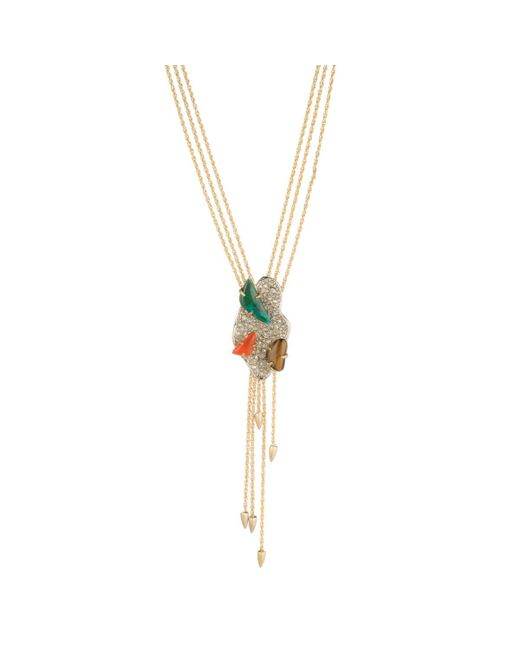 Alexis Bittar - Metallic Roxbury Cluster Y-necklace - Lyst