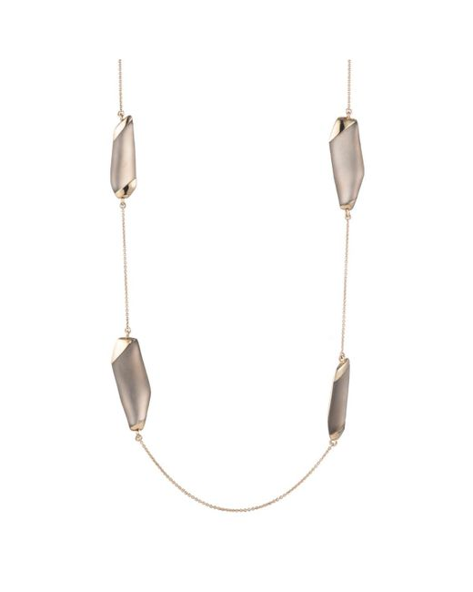 Alexis Bittar - Multicolor Lucite Station Necklace - Lyst