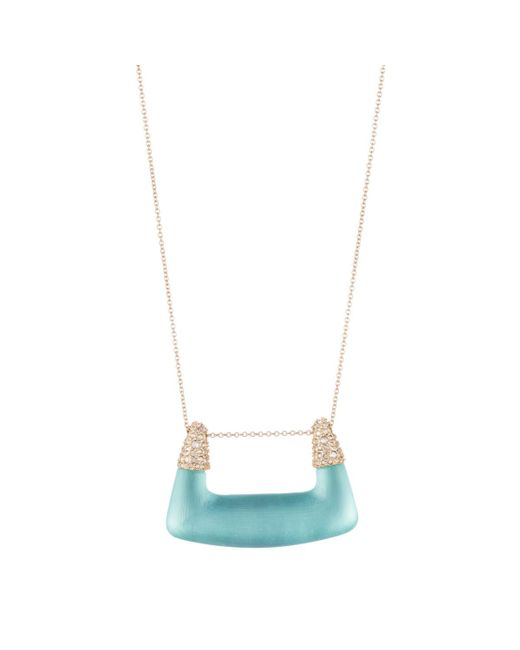 Alexis Bittar - Multicolor Crystal Encrusted Abstract Buckle Shape Pendant Necklace You Might Also Like - Lyst