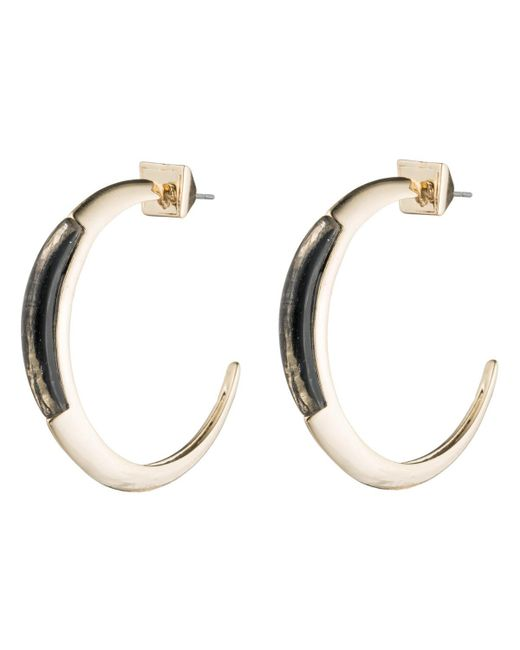 Alexis Bittar - Black Crescent Hoop Earring You Might Also Like - Lyst
