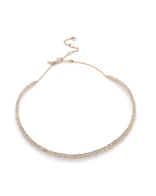 Alexis Bittar - White Spike Accented Choker Necklace You Might Also Like - Lyst
