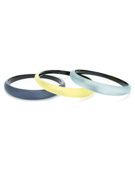Alexis Bittar - Multicolor Tapered Bangle Bracelet 3 Stack Set You Might Also Like - Lyst
