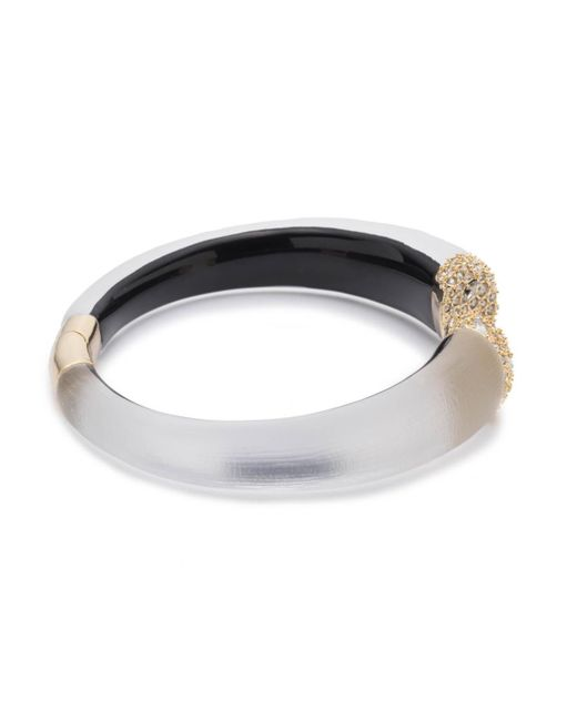 Alexis Bittar - Metallic Encrusted Pave Brake Hinge Bracelet You Might Also Like - Lyst