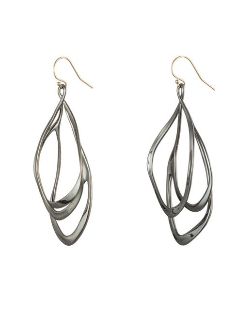 Alexis Bittar - Multicolor Orbiting Wire Earring - Lyst