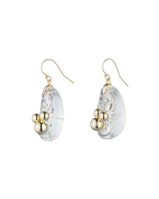 Alexis Bittar | Multicolor Liquid Lucite With Diamond Dust Wire Earring You Might Also Like | Lyst