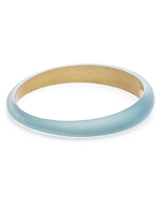 Alexis Bittar - Blue Tapered Bangle Bracelet - Lyst