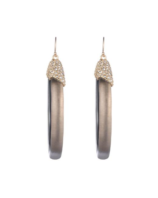 Alexis Bittar - Multicolor Crystal Encrusted Oval Drop Wire Earring You Might Also Like - Lyst