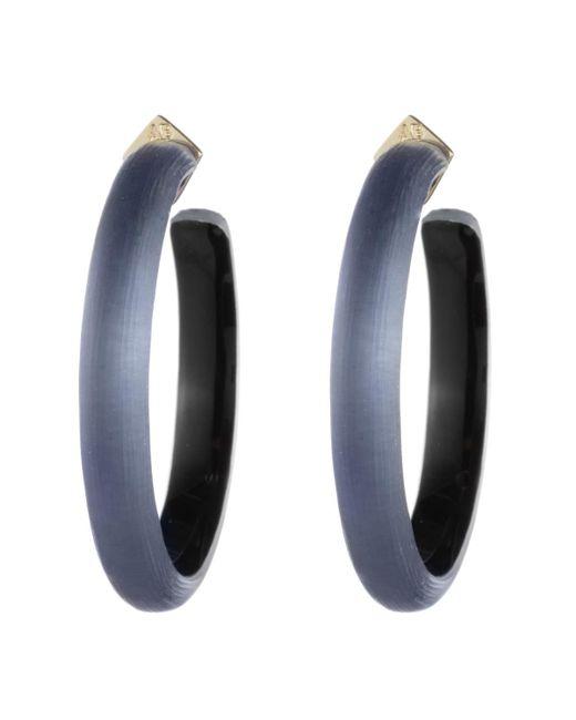 Alexis Bittar - Blue Large Hoop Earring - Lyst
