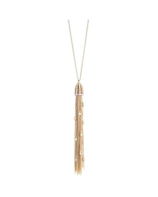Alexis Bittar - Multicolor Cascading Crystal Tassel Pendant Necklace You Might Also Like - Lyst