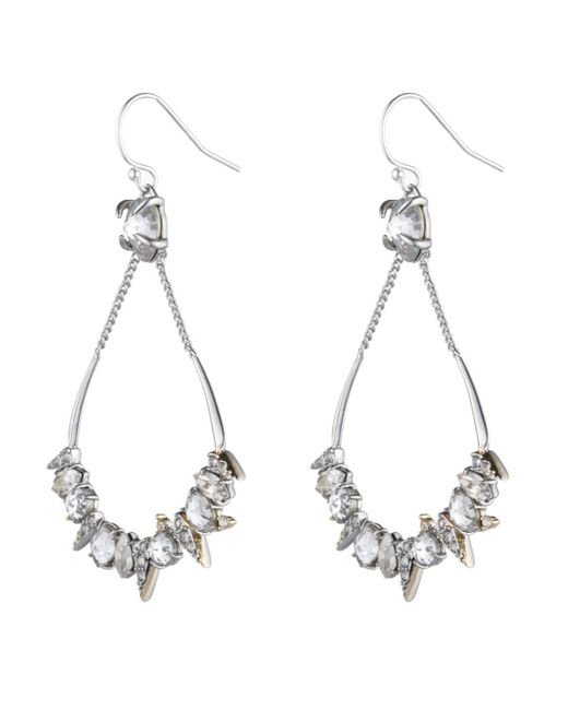 Alexis Bittar | Metallic Crystal Encrusted Mosaic Futuristic Tear Earring You Might Also Like | Lyst