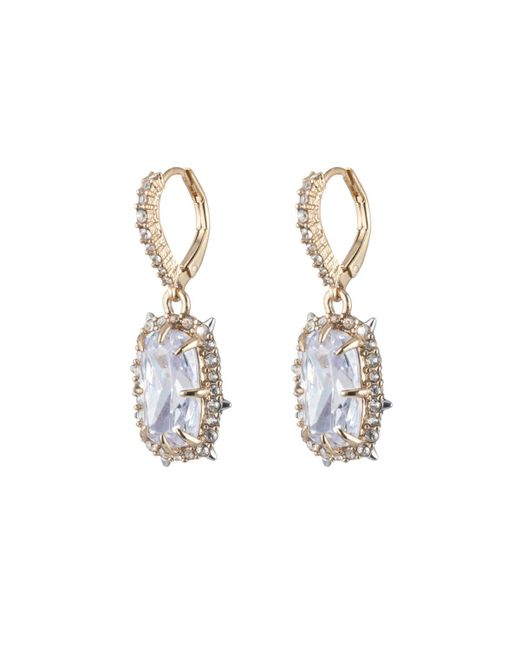 Alexis Bittar | Multicolor Crystal Framed Cushion Leverback Earring You Might Also Like | Lyst