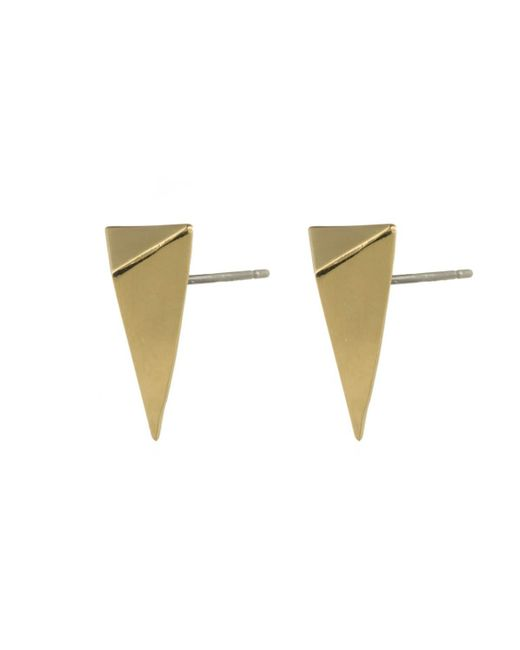 Alexis Bittar - Metallic Gold Pyramid Post Earring You Might Also Like - Lyst