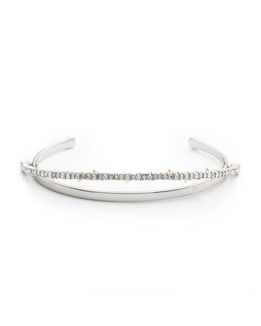 Alexis Bittar - Metallic Crystal Lace Orbiting Cuff Bracelet You Might Also Like - Lyst