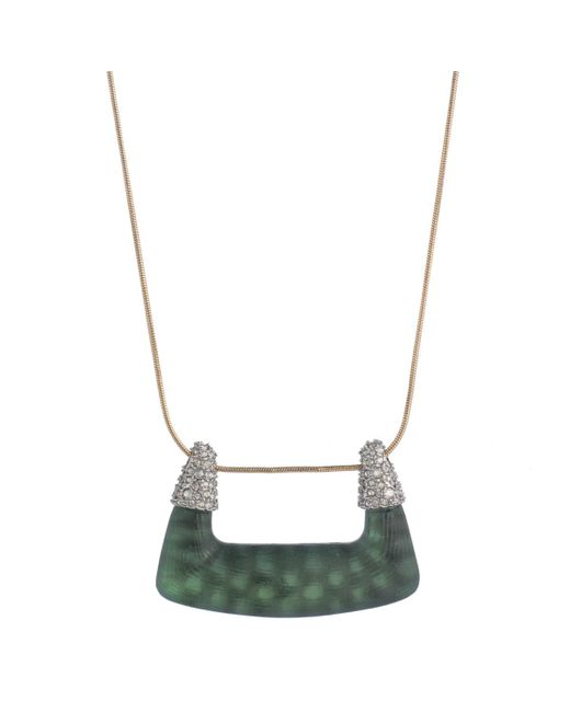 Alexis Bittar | Metallic Abstract Buckle Pendant Necklace You Might Also Like | Lyst