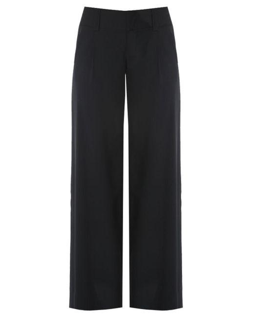 Alice + Olivia | Black Linda Embellished Wide-leg Tuxedo Trousers - Size 6 | Lyst