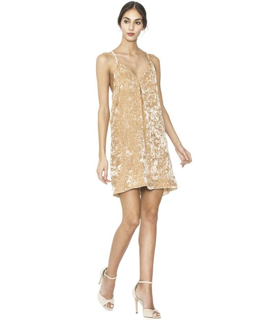 Alice + Olivia | Natural Fierra Tank Dress | Lyst