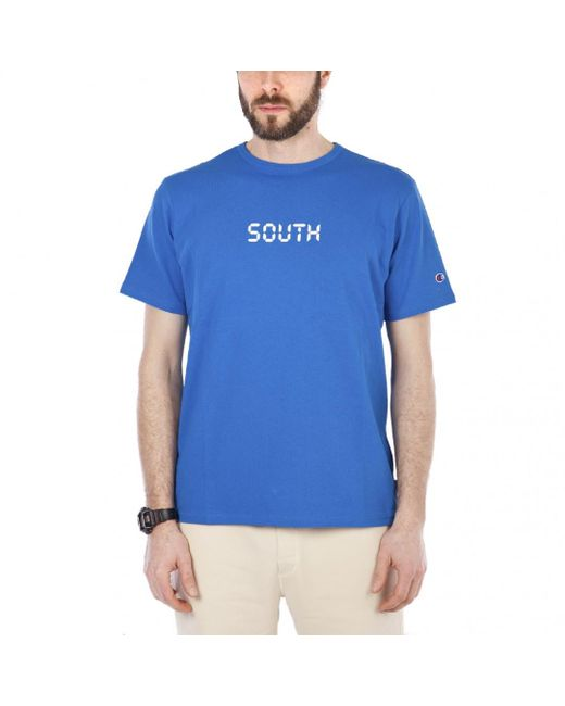 Champion - Blue X Beams South Beams Tee for Men - Lyst