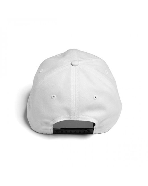 Raised By Wolves White Palm Polo Cap for men