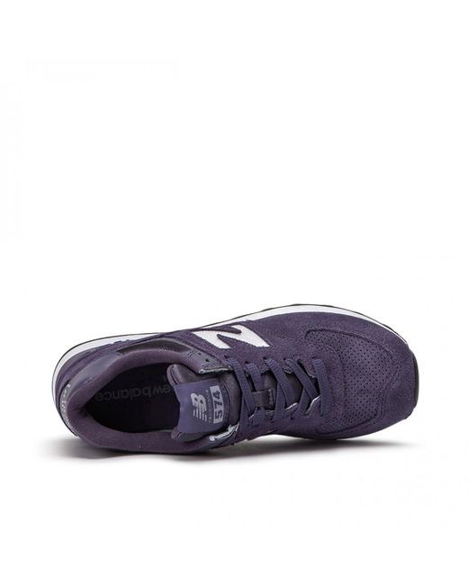 Lyst Purple New Balance in Men Wl574 Suede for Fhb SMpUVz