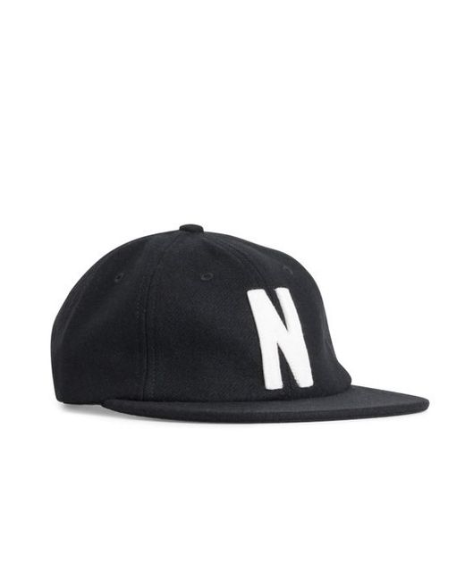 f5df36ecd16 Lyst - Norse Projects Norse Wool Cap in Black for Men - Save 66%