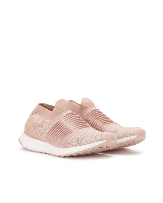13a600080d6 adidas Ultra Boost Laceless W in Pink - Save 56.115107913669064% - Lyst