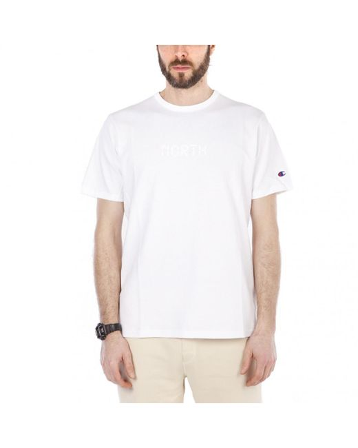 Champion - White X Beams North Beams Tee for Men - Lyst
