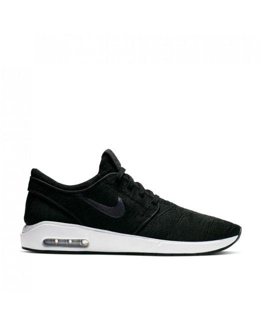 Nike Black Air Max Stefan Janoski 2 Men's Skate Shoe for men