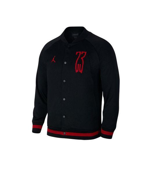 4932df05767fce ... Nike - Black Nike Air Jordan Sportswear Mesh Bomber